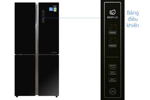 Tủ lạnh Aqua Inverter 516 lít AQR-IG525AM GB