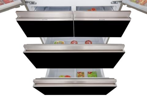 Tủ lạnh Aqua Inverter 553 lít AQR-IG686AM GB