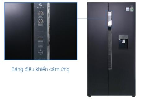 Tủ lạnh Aqua Inverter 557 lít AQR-I565AS BS