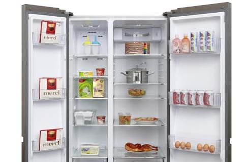 Tủ lạnh Aqua Inverter 565 lít AQR-IG585AS GS