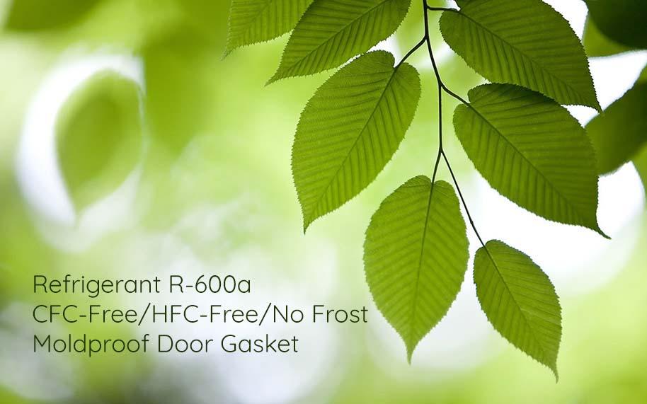 Tủ lạnh Hitachi R-FG560PGV8X(GBK) sử dụng Môi chất lạnh R600a thân thiện môi trường