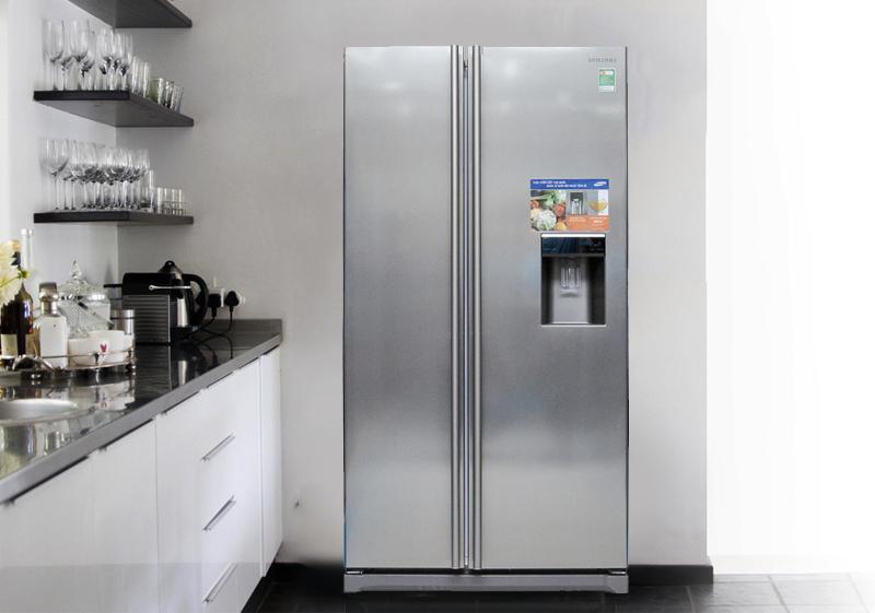 Tủ lạnh Samsung RSA1WTSL1/XSV có thiết kế tinh xảo và hiện đại