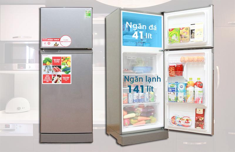Tủ lạnh Sharp- SJ- 212E 196 lí