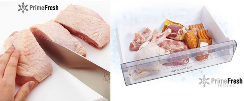 Cấp đông mềm PrimeFresh bảo toàn dinh dưỡng cho thực phẩm