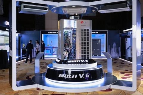 LG ra mắt giải pháp điều hòa trung tâm cho cao ốc
