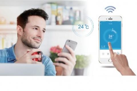 Xu hướng công nghệ năm 2017: Đỉều khiển máy lạnh bằng wifi, tại sao không?