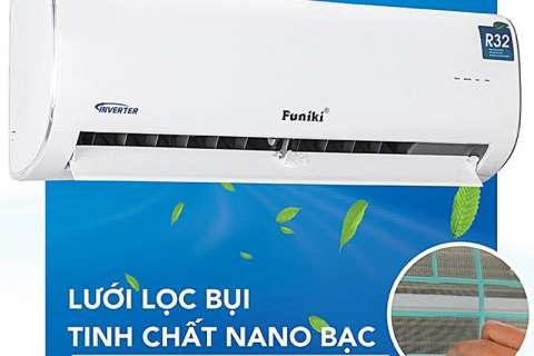 Công nghệ kháng khuẩn khử mùi trên máy lạnh Funiki không còn lo bụi bẩn nấm mốc