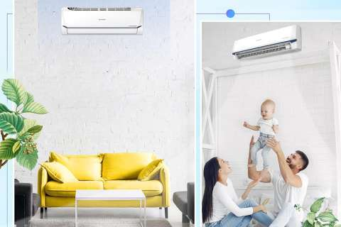 Công nghệ độc quyền PLASMACLUSTER ION của máy lạnh Sharp tấn công các vi khuẩn trong không khí