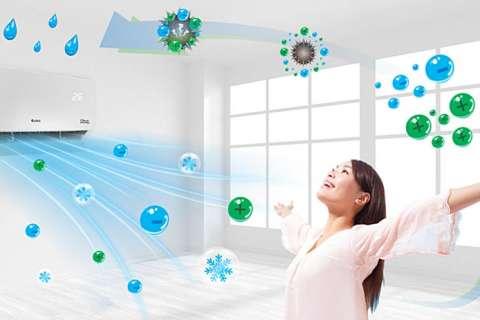 Công nghệ kháng khuẩn khử mùi trên máy lạnh Gree bảo vệ sức khỏe toàn diện
