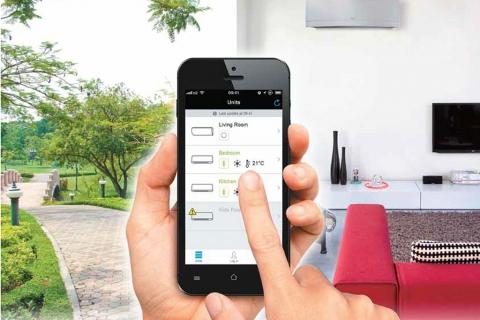 Điều hòa Daikin - Điều khiển bằng wifi smart phone