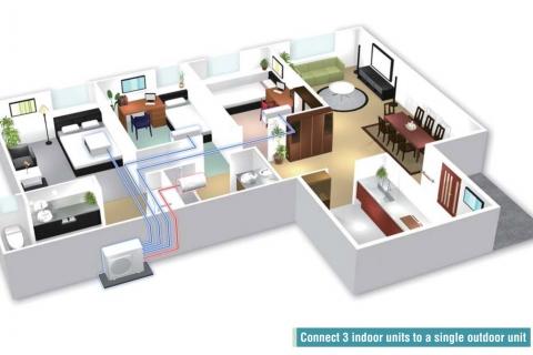 Hệ thống Multi Daikin - giải pháp điều hòa không khí cao cấp cho kinh doanh