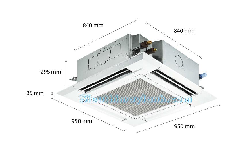kich-thuoc-may-lanh-am-tran-mitsubishi-electric-ply-p36balcm-4-0hp-inverter