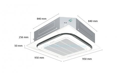 Máy lạnh âm trần Daikin FCQ71KAVEA (3.0Hp) inverter