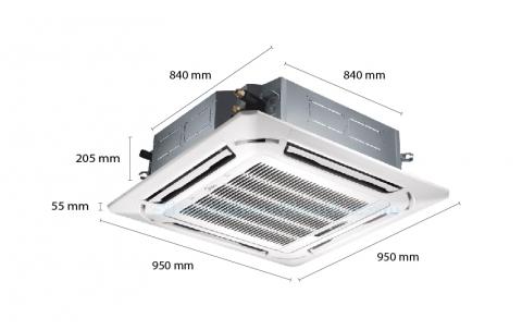 Máy lạnh âm trần Midea MCD-18CR (2.0Hp)