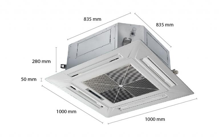 Máy lạnh âm trần Casper CC-50TL11 (5.0Hp) - 3 Pha