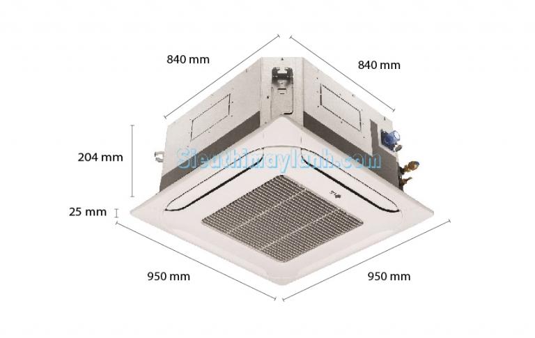 Máy lạnh âm trần LG ATNQ24GPLE6 (2.5Hp) Inverter
