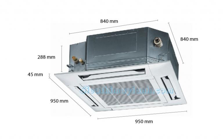 Panasonic Ceiling Cassette AC D43DB4H5 (5.0Hp)