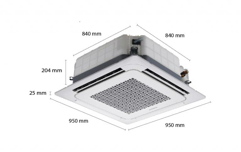 Máy lạnh âm trần Samsung AC024HB4DED/ID (2.5Hp)
