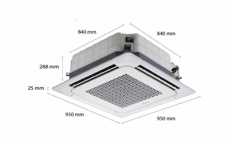 Máy lạnh âm trần Samsung AC036HB4DED/ID (4.0Hp)