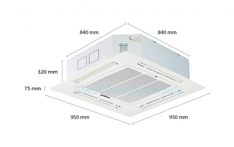 Máy lạnh âm trần Sumikura APC/APO-600 (6.0Hp)