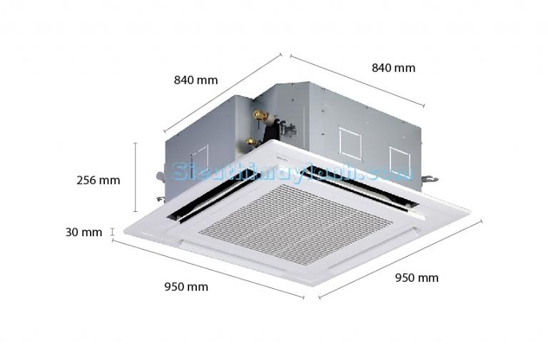 Toshiba Ceiling Cassette AC Inverter RAV-SE801UP (3.0Hp)