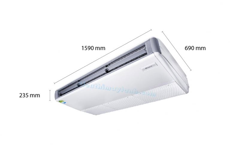 Daikin Ceiling Suspended AC Inverter FHQ125DAVMA (5.0Hp) - 1 phase