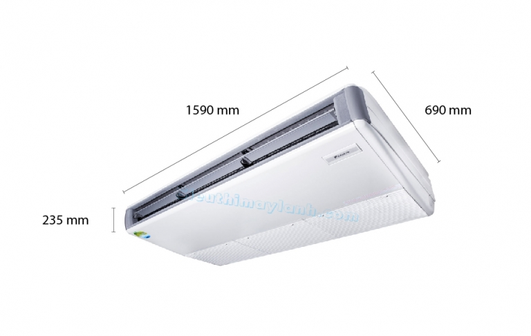 Daikin Ceiling Suspended AC Inverter FHQ125DAVMA (5.0Hp) - 3 phase