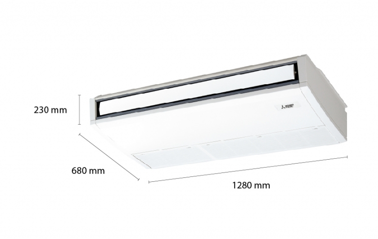 Mitsubishi Electric Ceiling Suspended PC-3KAK (3.0Hp)