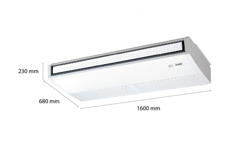 Mitsubishi Electric Ceiling Suspended Inverter PCY-P48KA (5.5Hp) - 3 pha