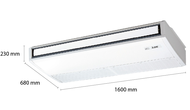Mitsubishi Electric Ceiling Suspended Inverter PCY-P48KA (5.5Hp)