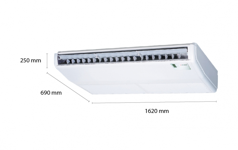 Mitsubishi Heavy Ceiling Suspended Inverter FDE125VG (5.0Hp) - 1 phase