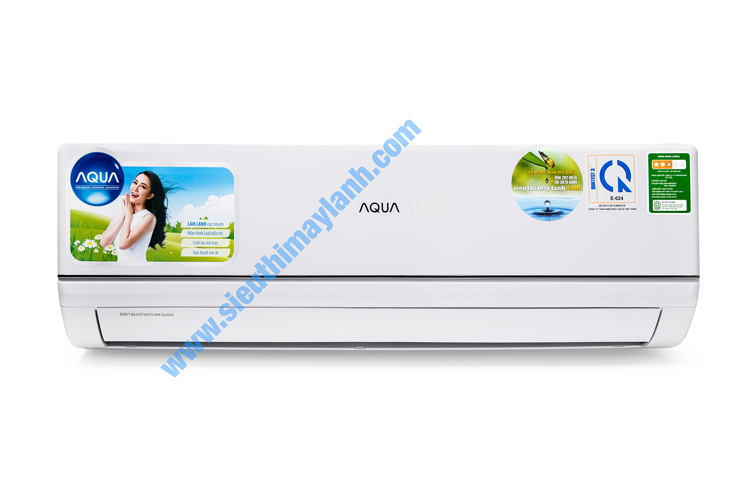 Aqua Air Conditioner AQA-KC12BGS7T (1.5Hp)