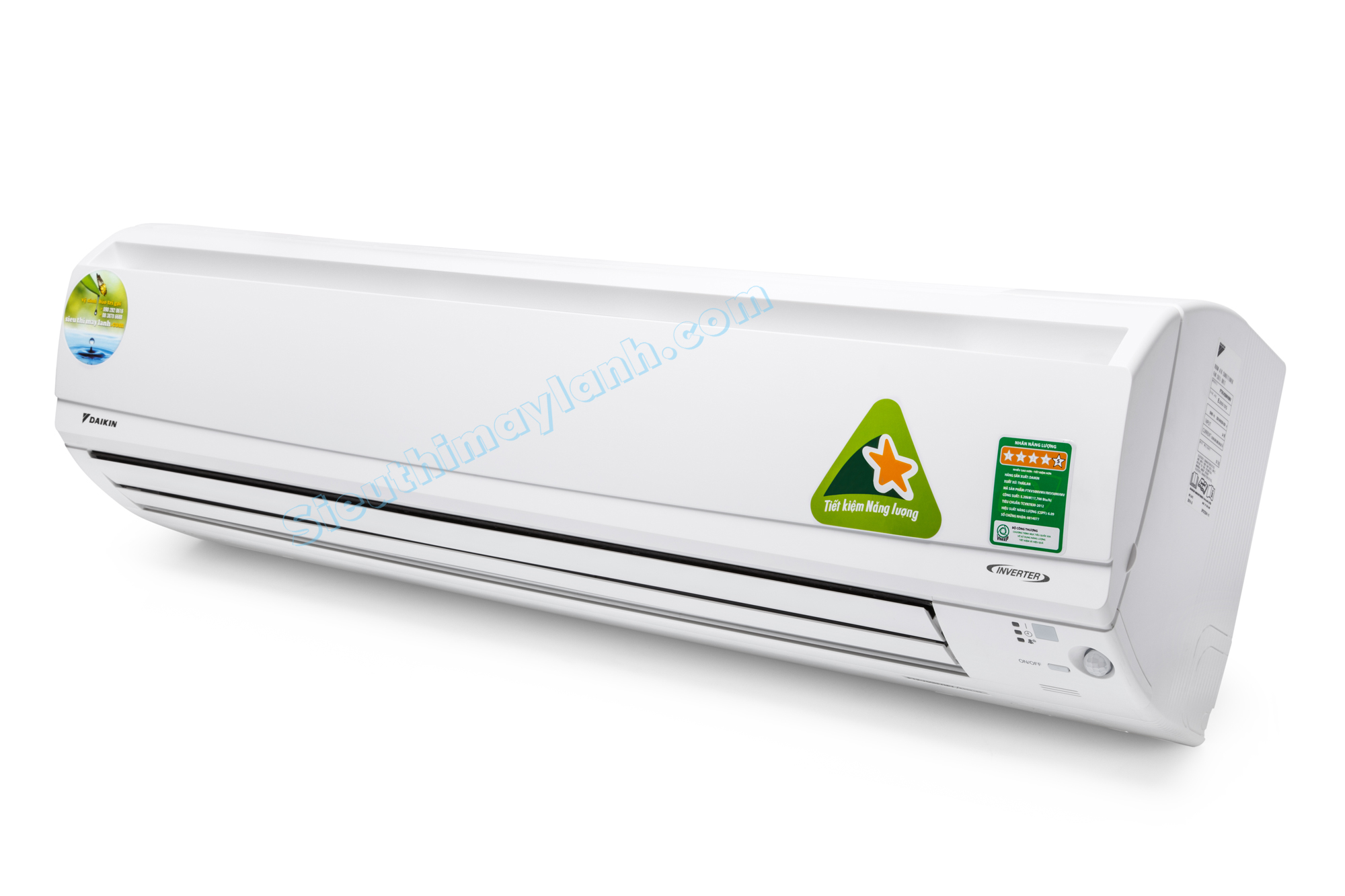 Daikin Air Conditioner Inverter FTKV60NVMV (2 5Hp)