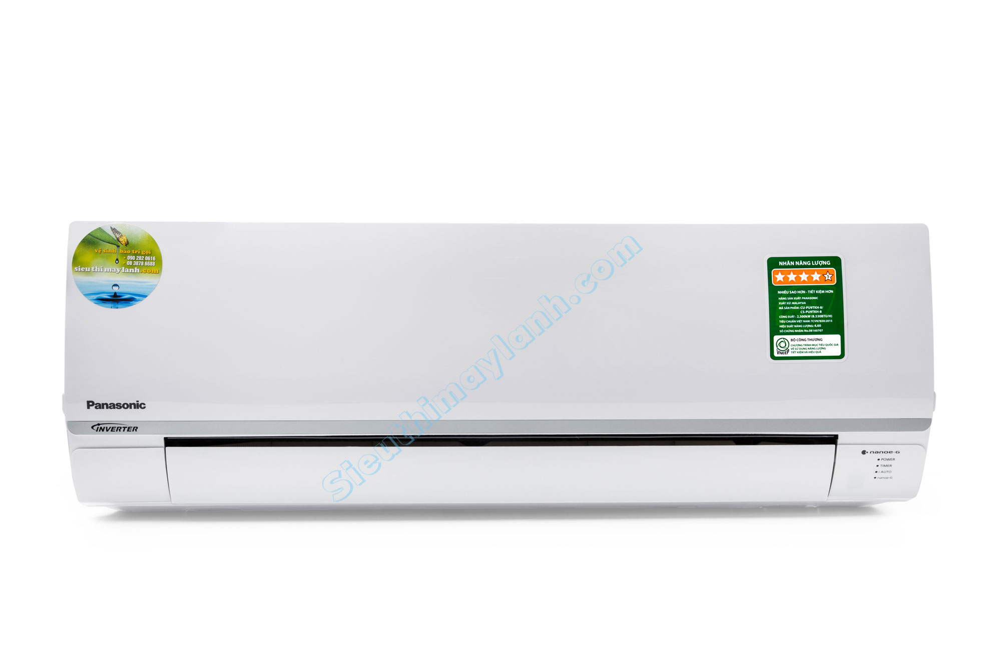 Panasonic Air Conditioner inverter PU24TKH-8 (2.5Hp)