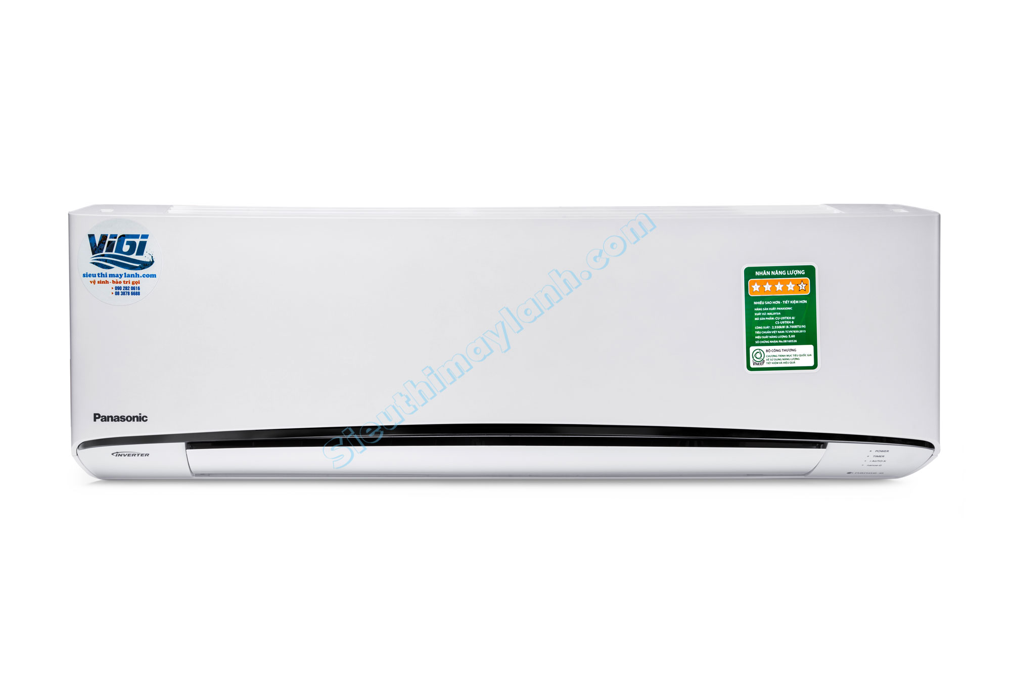 Panasonic Air Conditioner inverter U24TKH-8 (2.5 Hp)