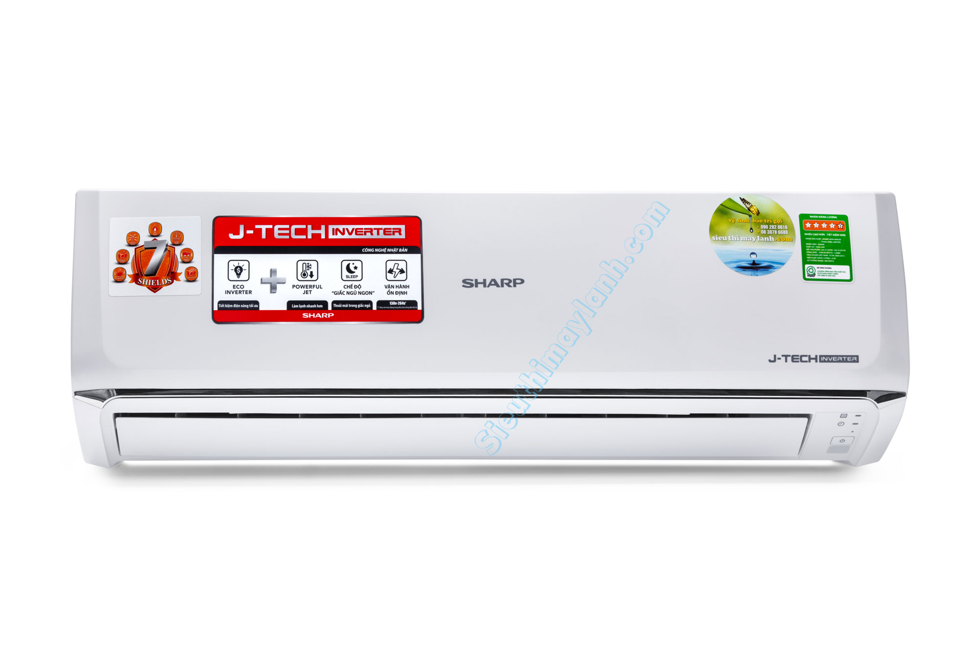 Sharp Air Conditioner inverter AH-X18UEW (2.0Hp)