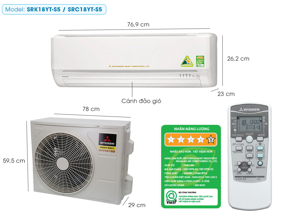 may-lanh-mitsubishi-heavy-srk18yt-s5-2-0hp-inverter-sang-trong-1