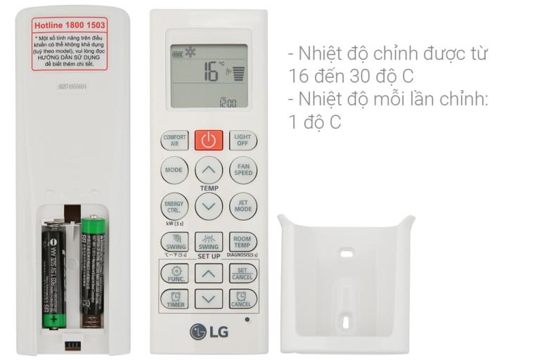 Máy lạnh LG V10ENH (1.0Hp) Inverter