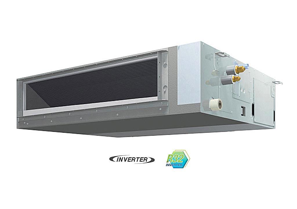 Máy lạnh giấu trần nối ống gió Daikin FBFC71DVM - RZFC71DVM + BRC2E61 (3.0Hp) inverter