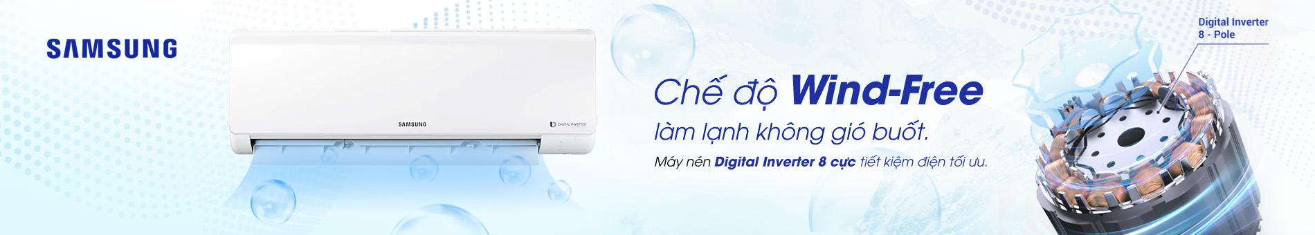 Máy lạnh Panasonic - Điều hòa samsung