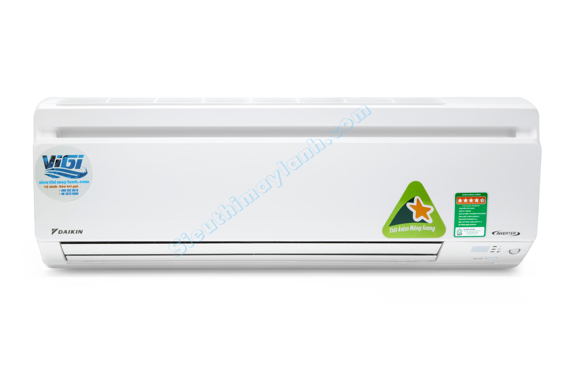 Máy lạnh Daikin FTKV25NVMV (1.0Hp) inverter cao cấp