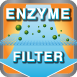 Enzyme-filter