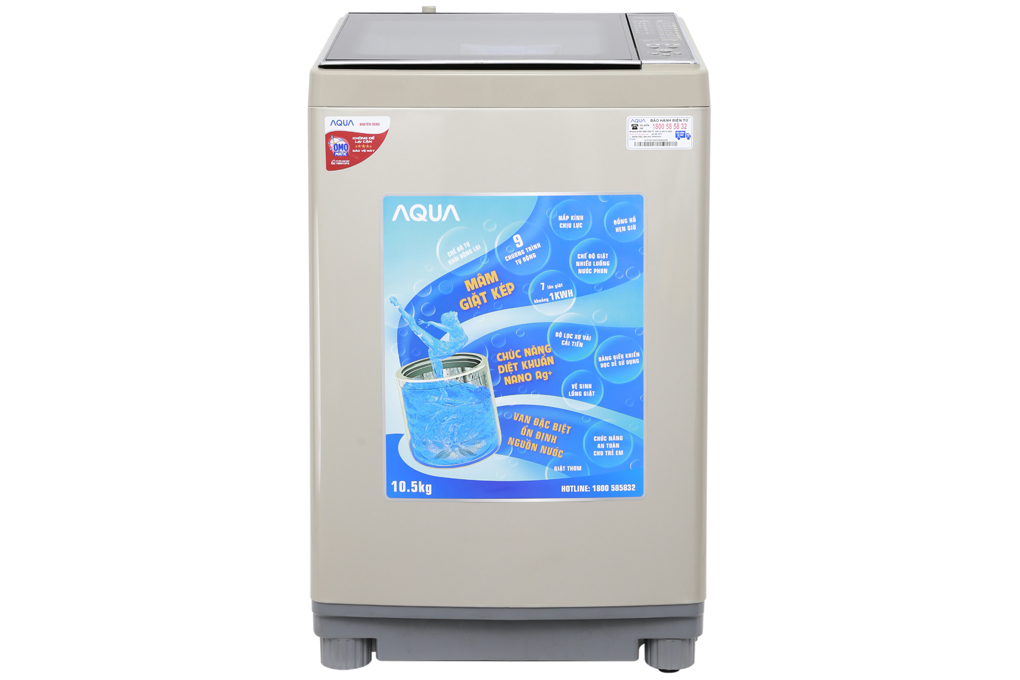 Máy giặt Aqua 10.5 kg AQW-FW105AT N
