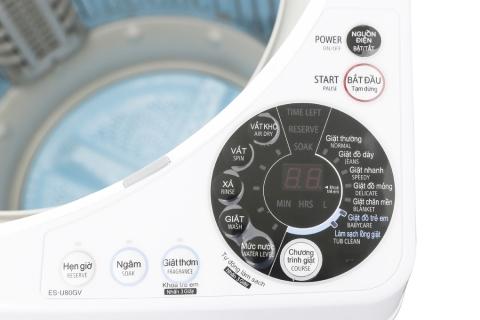 Máy giặt Sharp 8 kg ES-U80GV-H