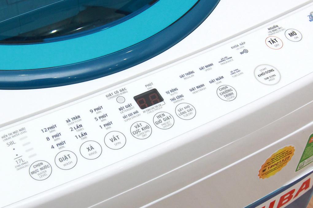 Nhiều chương trình giặt