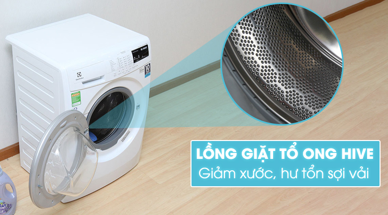 Lồng giặt HIVE của máy giặt electrolux ewf12843