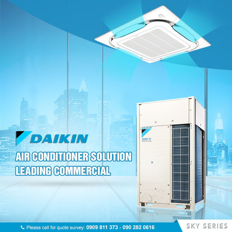 Daikin giải pháp điều hòa thương mại hàng đầu