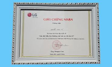 Chứng nhận LG