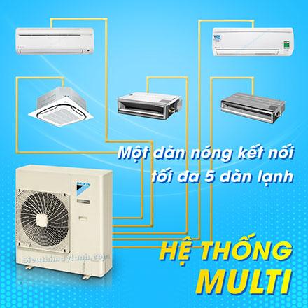 Hệ thống lạnh Multi