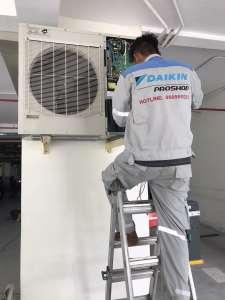 ráp dàn nóng máy lạnh